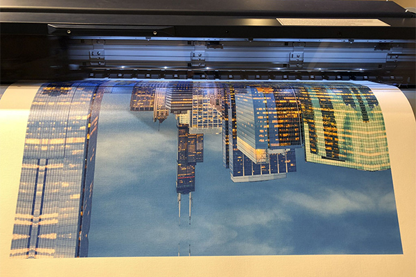Piper, Fine Art Printing, ES80600, Printing Chicago Skyline, Canvas Printing