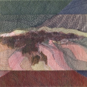 Drawing by Robert Aldern, Felt Tip, on display at Piper Custom Framing,